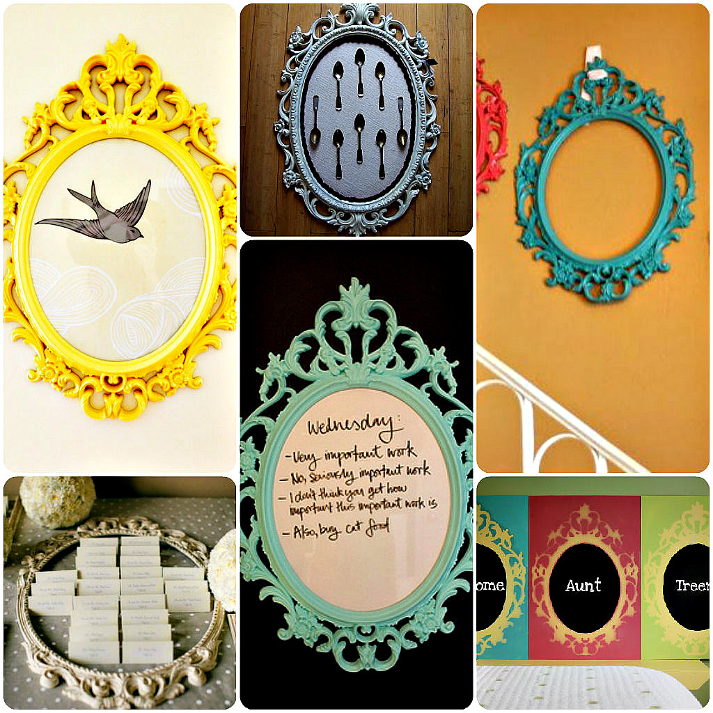 13 ways to personalize the ikea scrolly ung frame for Ways to frame pictures