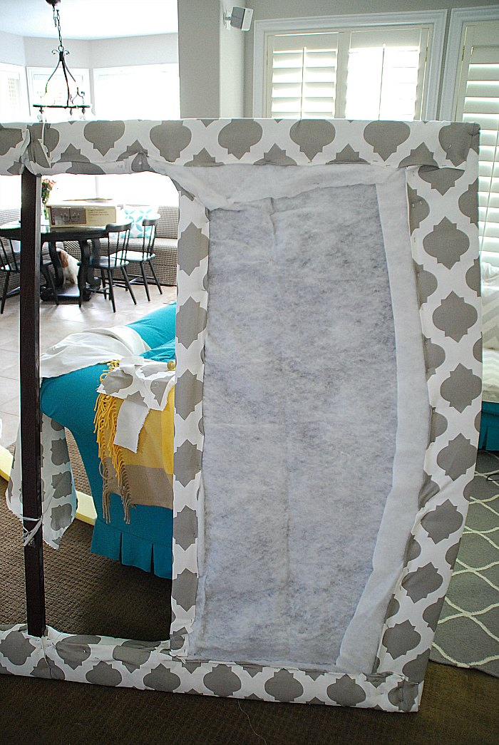 How to upholster a headboard doityourself com html for Do it yourself headboards with fabric