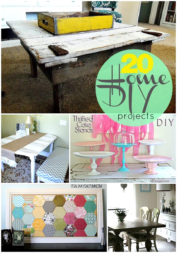 20 home diy projects to make this fall for Easy crafts to make money from home