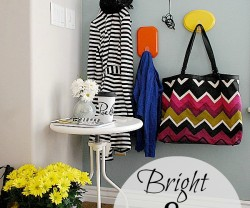 bright an dhappy entryway