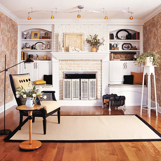 10 Fabulous Fireplace Before and After Projects. Update your fireplace. Here ate 10 ideas using paint, planking, shelves and more!