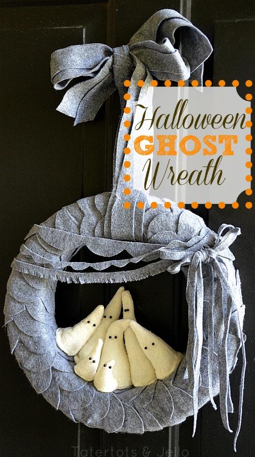 DIY Halloween Pumpkin Garland