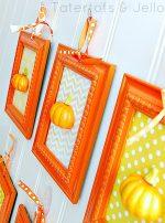 It's Pumpkin Week — 3-D Pumpkin Art Wall!