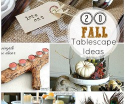 Fall Craft Ideas  Home on Great Ideas     20 Fall Tablescape And Centerpiece Ideas