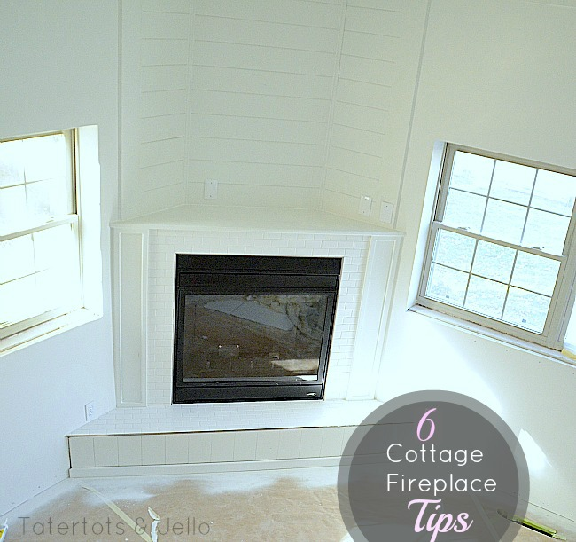 6 cottage fireplace tips