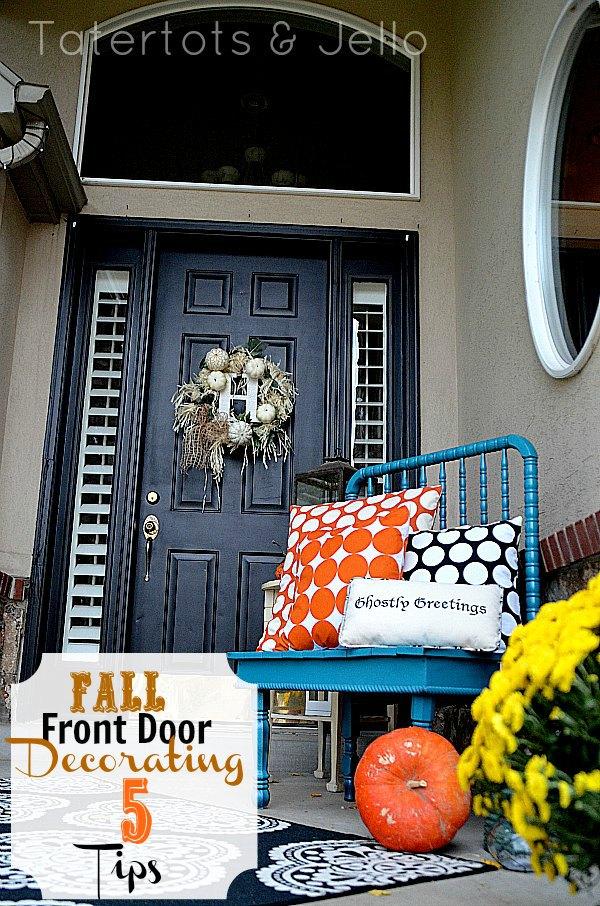 5 Fall Front Door Decorating Tips