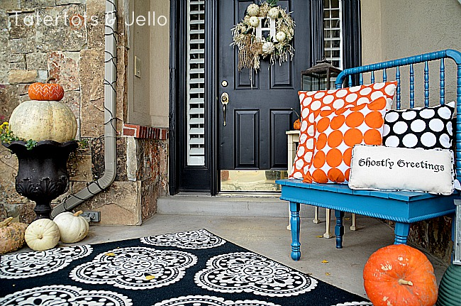5 fall front door decorating tips Beautiful fall front porches