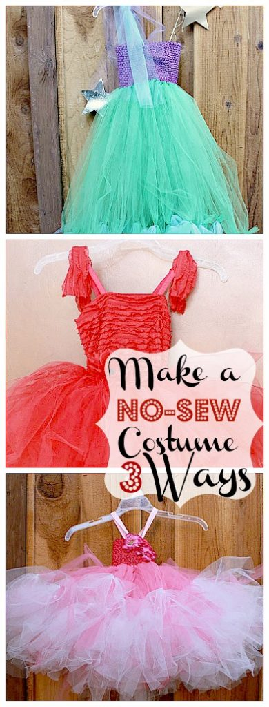 no sew mermaid costume diy