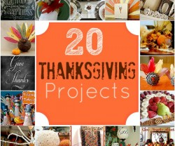 20 thanksgiving projects