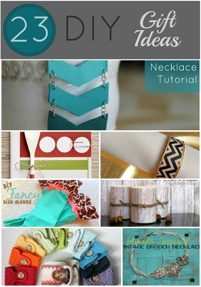 23 diy gifts to make for Simple homemade gifts for friends