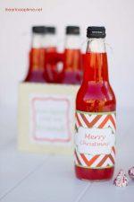 "HAPPY Holidays — ""Soda-lighted"" Printable and Holiday Gift Idea"