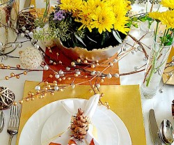 wayfair holiday tablescape
