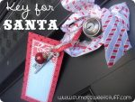 HAPPY Holidays — Make a Key for Santa (Free Printable)
