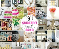 30 Creative projects of 2012