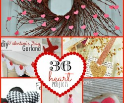 36 heart projects