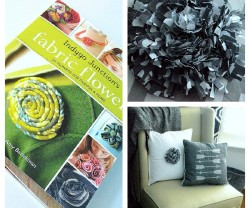 indygo junction fabric flower book giveaway