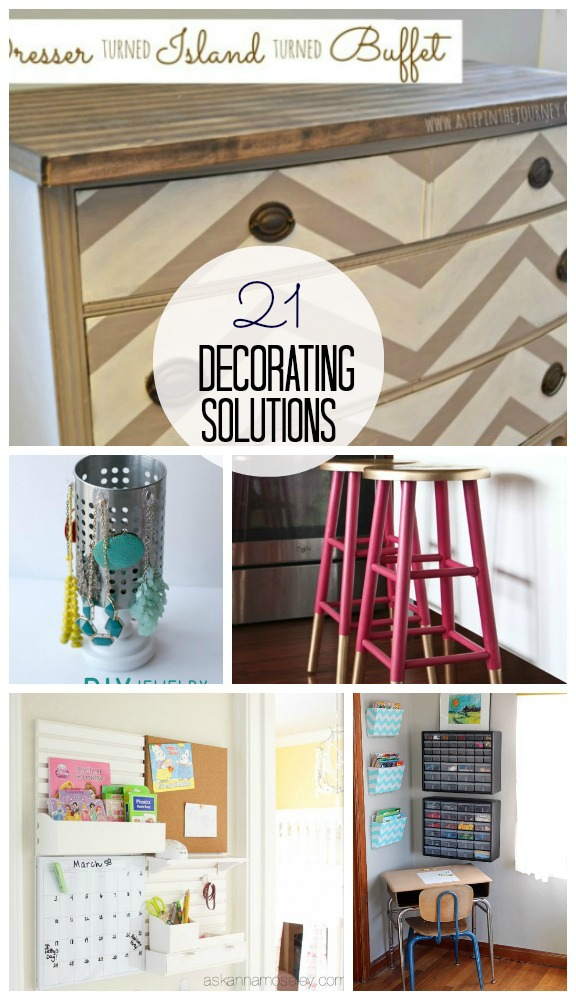 Great Ideas -- 21 Decorating Solutions!! -- Tatertots and Jello