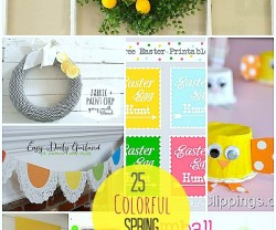 25 bright and colorful SPRING ideas