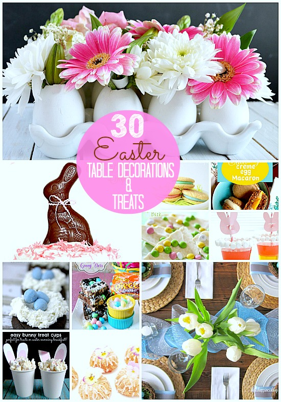 Great Ideas -- 30 Easter Table Setting Ideas and Treats ...