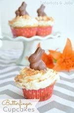 Recipe: Make Easy Butterfinger Cupcakes!
