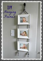 DIY Hanging Frames Tutorial!