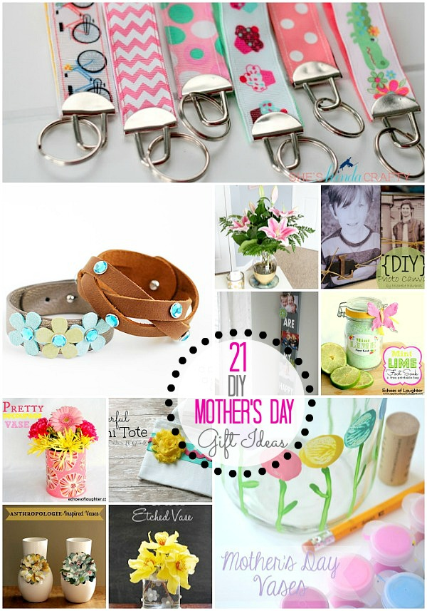 Great Ideas -- 21 Mother's Day Gift Ideas!!