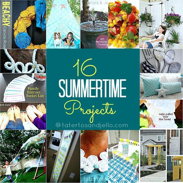 Diy Ideas Summer: 16 DIY Summertime Projects To Make!