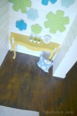 #1905Cottage DIY: Build A Rustic Planked Floor Inexpensively!