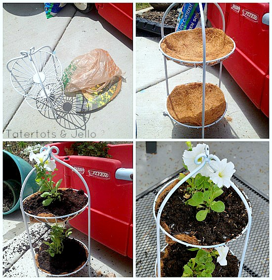 making a tiered planter