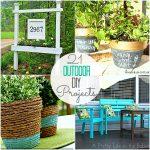Great Ideas — 21 DIY Outside Projects!!