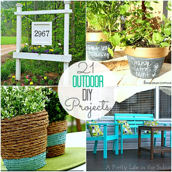 great ideas 21 projects to spruce up your backyard