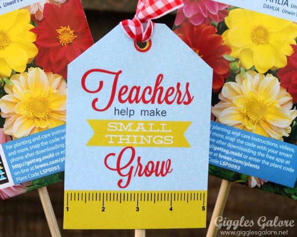 teachers help you grow printable