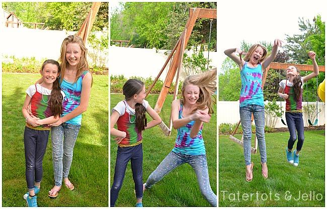 Make Tie-Dye Summer Shirts