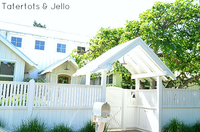 trellis and fence at tatertots and jello