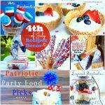 20 Fourth of July Recipes + Table Decor Ideas!