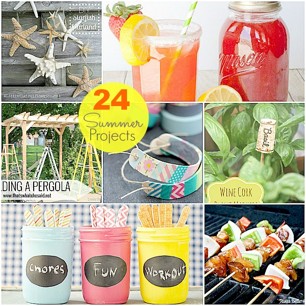 Great Ideas 24 Diy Summer Projects