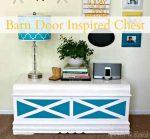 Barn Door-Inspired Painted Chest (DIY Tutorial)