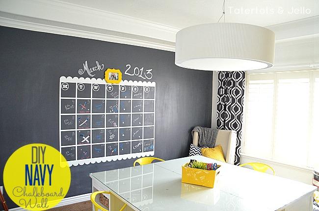 diy-navy-chalkboard-wall1