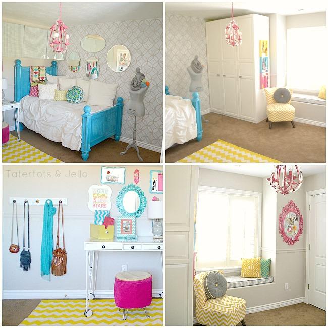 hannahs room collage