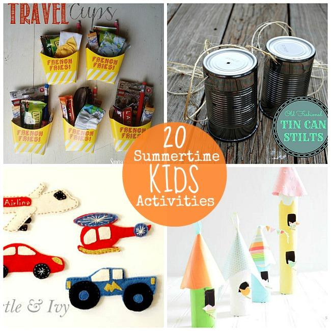 20 summertime kid activities
