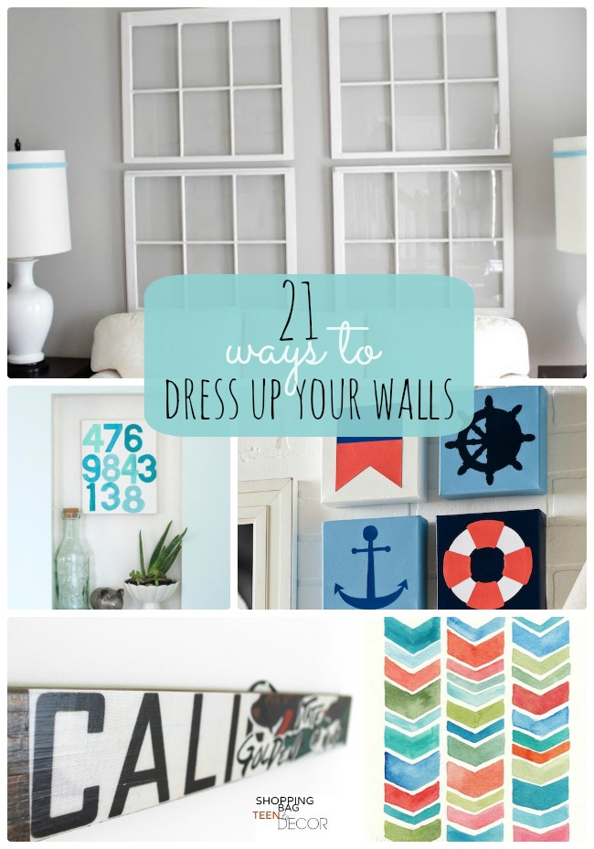 Great Ideas -- 21 Ways to Dress Up Your Walls