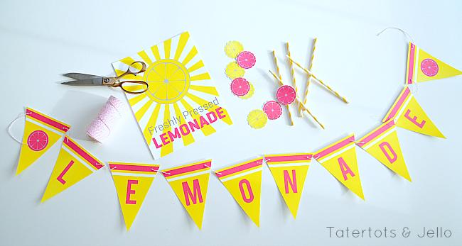 Summer Lemonade Stand Free Printable Signs