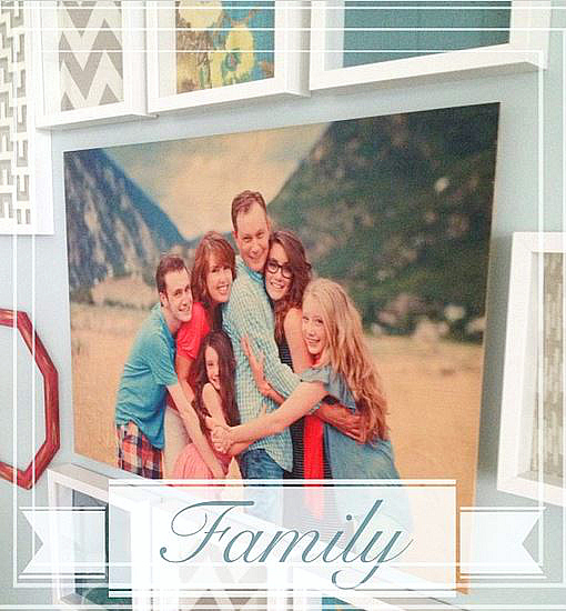 family gallery wall wood art shutterfly 2