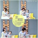 Make a Quick Outdoor Wood Marquee Letter (DIY Tutorial)!