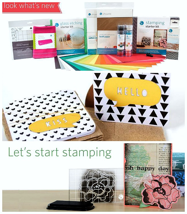 new silhouette products collage