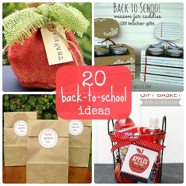 20 Back-to-School Ideas
