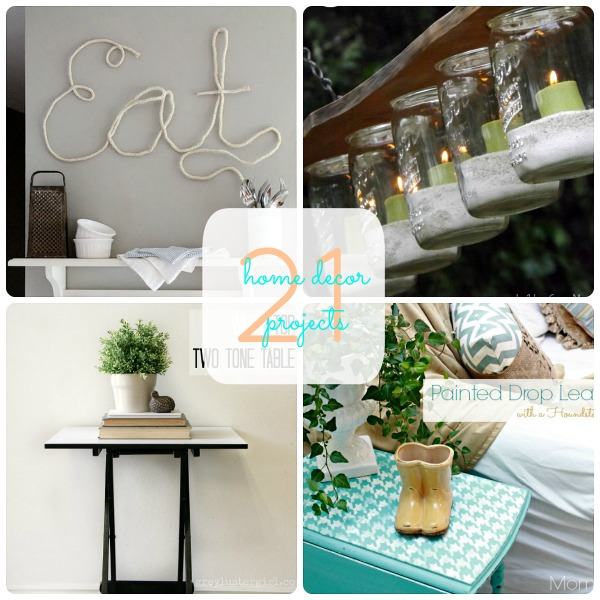 Diy Home Decor Instagram: Great Ideas -- 21 Home Decor Projects