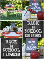 Back To School Chalkboard Printables!