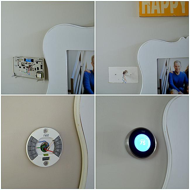 installing the nest