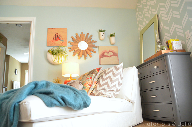 master bedroom reading nook at tatertots and jello